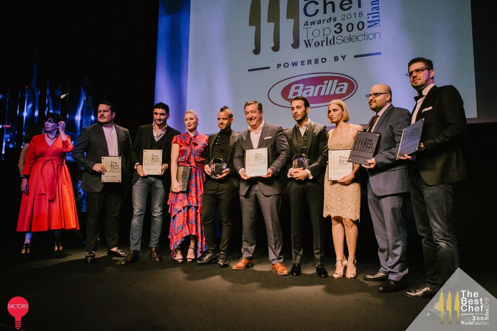 The Best Chef Awards 2018. Creatività ed esperienza al servizio del gusto